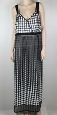 V-Neck Women's Polka Dot Long Dresses