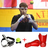 New Sport Boxing Glove Training Speed Ball Tennis Training Set Practice Fitness