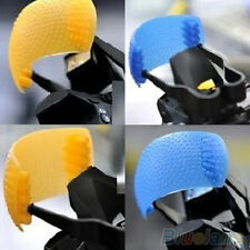 3 Colors Puffer Pop-Up Flash Soft Diffuser Dome Kit For Canon Nikon Pentax DSLR