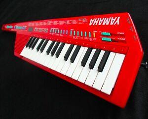Yamaha SHS-10R FM Digital Keyboard MIDI Keytar Vintage Red Synthesizer Sholky