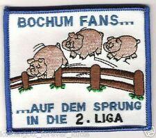 "Anti Bochum Aufnäher ""Sprung"" Kutte Weste Fan Patch Block Kurve NEU + 9 x 8 cm +"