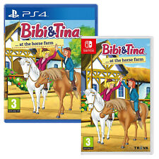 Bibi & Tina At The Horse Farm PS4 Nintendo Switch Family Kids Horse Riding Game