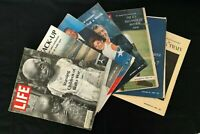 Life Mags 1968, Lot of 7 Assorted Jul12, Aug9&16, Sept6&20, Oct25,Dec 20 Gd-Acpt