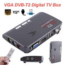 1080P Dvb-T/ Dvb-T2 Tv Set-top Box Terrestrial Hdtv Tuner Receiver Hdmi/Vga/Av
