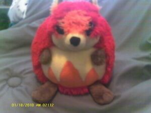 Squishables Retired Rare Digimon Red Critter 9 in plush