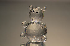 Silver Deer Crystal Zoo Medium Bear Faceted Clear Swarovski interest