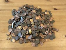 Box Lincoln Memorial Copper 1959-1982 Bullion Unsearched Cents Pennies Hoard 10