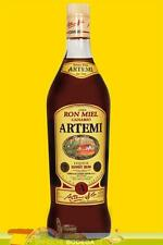 3 Fl. je 1 L. Ron Miel Honey Rum Artemi, Kanarischer Honigrum (GP 13,39€ / Ltr.)