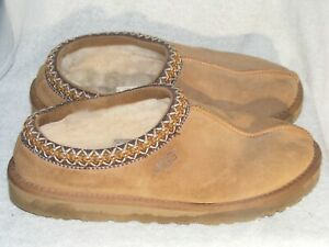 Women's Genuine Leather & Sheepskin Slippers by Ugg-Worn a Couple of Times-Sz 10