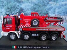 1/64  DelPrado 1996 Camion  grue Astra HD7 Italy FIRE