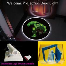 3D Running Hulk Logo Wireless Home Door Welcome Light CREE LED Laser Projector