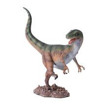 "Velociraptor Raptor Dinosaur Resin Figurine Miniature Statue 8""L New"