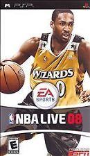 NBA Live 08 UMD PSP GAME SONY PLAYSTATION PORTABLE 2K8 2008 BASKETBALL