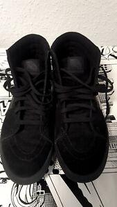 Vans Sk8-Hi Sneaker Gr. 42 Neu Off the Wall High Mono Schwarz
