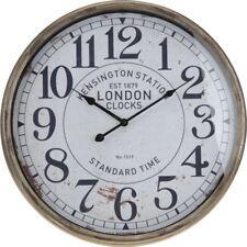 Wanduhr 50cm Bahnhofsuhr Vintage Retro Look Anitk Clock