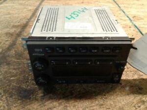 Audio Equipment Radio Am-fm-stereo-cd 6 Disc Fits 03-06 SANTA FE 1159212