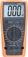 Digital LCR Meter DM4070 DMM Multimeter Measure Cap. Ind. Ohm Meter -Brand New