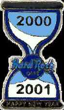 Hard Rock Cafe ONLINE 2000-2001 Happy New Year Hour Glass PIN HRC Catalog #2834