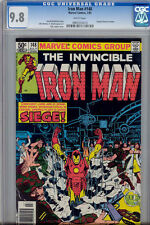 Iron Man  #148  CGC 9.8 Battle in a Power Plant: 1981 Comic
