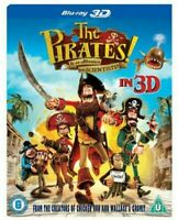 The Pirati! IN Un Avventura Con Scientists 3D Blu-Ray Nuovo (SBR716443DU