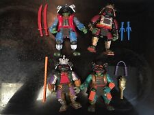 TMNT TEENAGE MUTANT NINJA TURTLES 3 MOVIE FIGURES PLAYMATES 1992 LOT