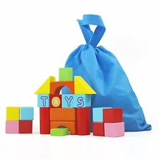 Wholesale Lot of 10 Montessori Wooden Building Block Sets: Preschoolers,Toddlers