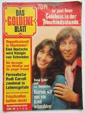 Das Goldene Blatt 5/1974, Dunja Rajter, Les Humphries, Carrell, Anthony Quinn