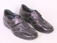 C625 Theresia M. Schuhe Halbschuhe Leder schwarz Gr. 39 (6 K) Wechselfußbett neu