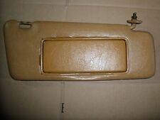 W123 WAGON 300D 300TD 280E 280TE SUN VISOR RIGHT PASSENGER PALOMINO TAN DATE