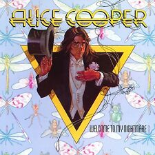 Alice Cooper-Welcome To My Nightmare Vinyl LP Cover Hair Metal Sticker or Magnet