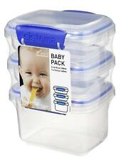 Sistema KLIP IT collection Baby Pack Food Storage Containers, Set of 9