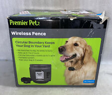 New listing 🔥 Premier Pet Wireless Fence Pet Containment Gif00-16347 New Open Box