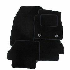 VOLKSWAGEN TIGUAN (2007-2016) TAILORED CAR MATS CARPET MAT BLACK TRIM & CLIPS