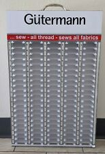 Gutermann Sewing Thread Display - 100 Count - White Cabinet Rack Store Display