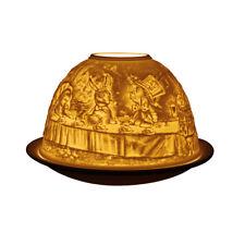 Light Glow Dome Tealight Holder, Alice in Wonderland Candle Tea Light Home Gift