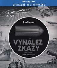 Vynalez zkazy 1958 Jules Werne Karel Zeman Blu-ray Black & White
