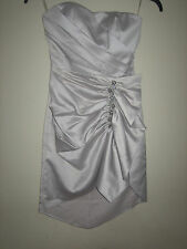 ( NEW WITH TAG ) A LOVELY STYLISH LIPSY  SILVER CHARM  DRESS SIZE 8
