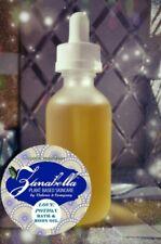 Love Potion Bath & Body Oil Organic Jasmine Lemongrass Blend for Silky Soft Skin