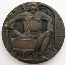 Kauko Rasanen 1982 Bronze Art Medal PAMAUS 80mm 390gr