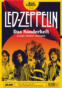 Rock Classics 2018 #23 LED ZEPPELIN Magazine Germany RARE - FOR COLLECTORS