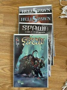 spawn 69, the dark ages 25, hellspawn 7 10. lot of 4. VF/NM