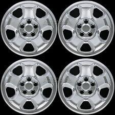 "4 CHROME 2006-15 Honda RIDGELINE PILOT 17"" Wheel Covers Rim Skins Hub Caps Hubs"