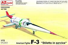 """AZ Models 1/72 Douglas F-3 American Fighter """"Stiletto in Service"""" # 7598"""