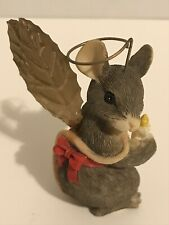 """Fitz and Floyd Charming Tails """"Angel Of Light """" Collectible Figurine"""
