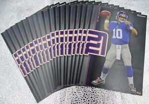 "Eli Manning 5 Fathead New York Giants NFL 7"" Decal Ole Miss Rebels Super Bowl"