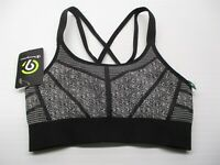 new CHAMPION C9 Women's Size XS DUO DRY Medium Support Black Seamless Sports Bra