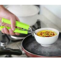 Picnic Pot Anti-Hot Clip Holder Clamp Lifter For Dish Microwave New Kitchen I7Y9