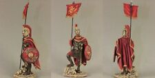 Tin toy soldiers ELITE painted 54 mm   Roman Cavalry Vessillifer, 3rd century AD
