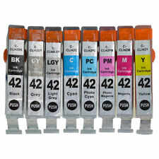 8 PACK CLI-42 cli42 cli 42 Ink Cartridges Set for Canon PIXMA PRO-100