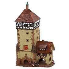 cerámica casa de velas Casita para Portavelas motivo Castillo/CANDADO 21cm 40549